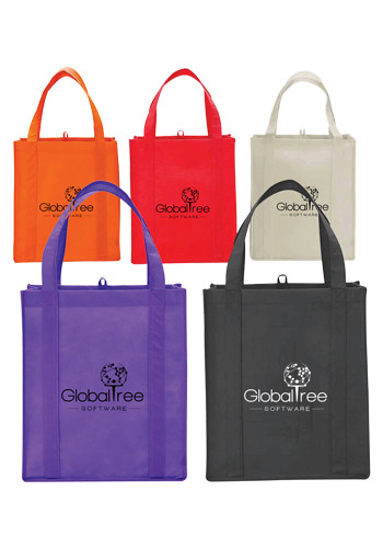 Promotional Big Grocery Non-Woven Tote Bags