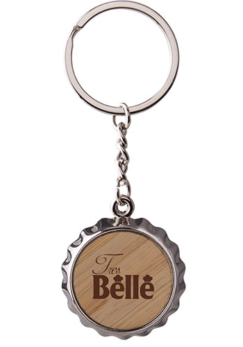 Bottle Cap Bottle Opener Keytag