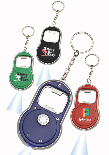 Bottle Opener & LED Keychains