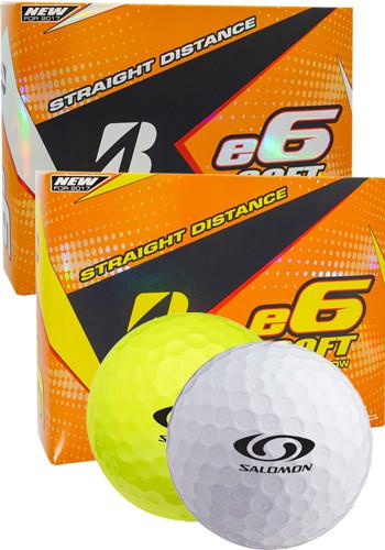 Custom Bridgestone e6 Soft 2017 Golf Balls