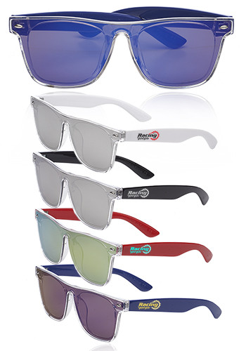 Promotional Brighton Metallic Mirrored Lens Sunglasses
