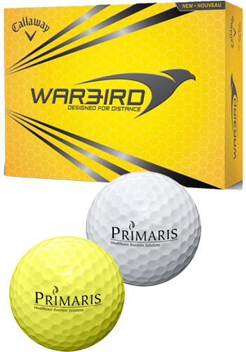 Customized Callaway Warbird 2017 Golf Balls
