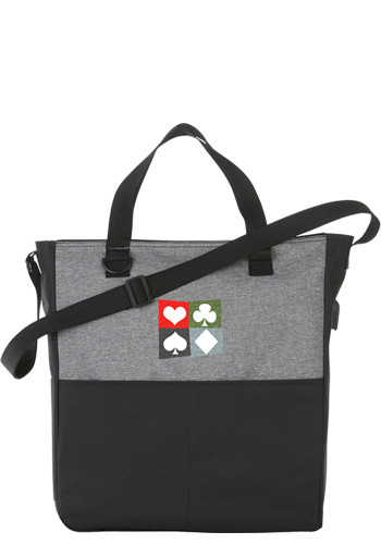 Wholesale Cameron Convention Totes with USB Port