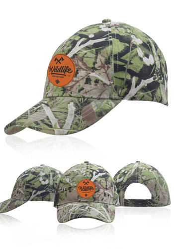 Camouflage Brushed Cotton Caps