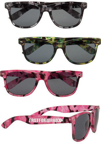 Personalized Camouflage Sunglasses