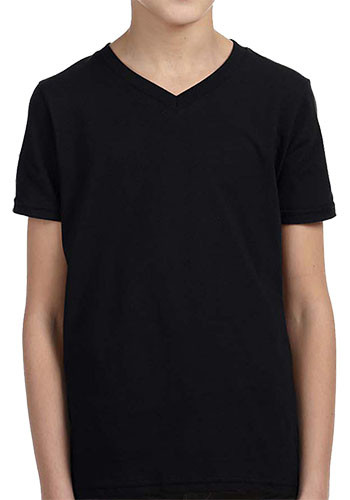 Bella Canvas Youth Jersey V-Neck T shirts   3005Y