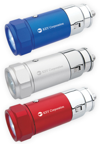 Customized Car Charging Flashlights