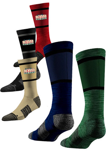 Custom Classic Crew Socks (Pair)