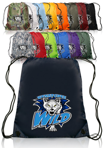 Polyester Drawstring Backpacks