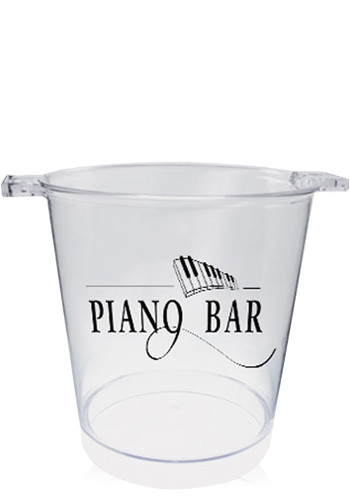 Clear Plastic Ice Buckets | HWIB200