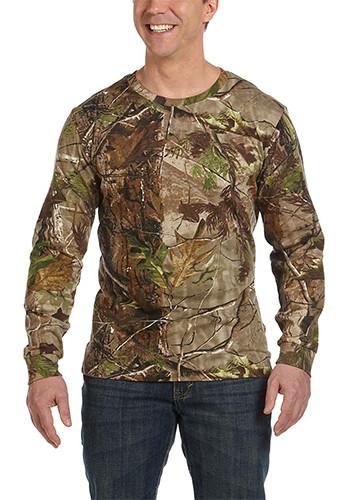 Code Five Men's Realtree Camo Long-Sleeve T-Shirts   3981
