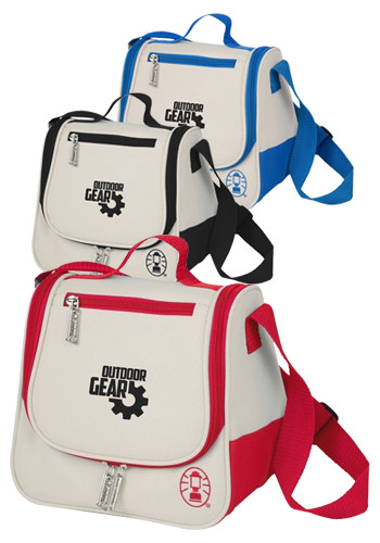 Promotional Coleman 8-Can Saddle Bag Coolers