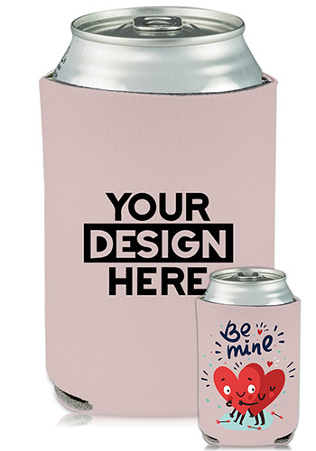 Promotional Collapsible Can Coolers Be Mine Print