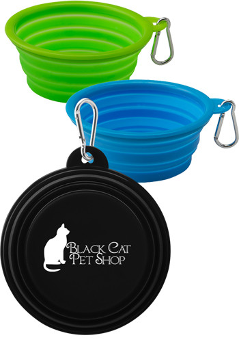 Customized Collapsible Silicone Pet Bowls