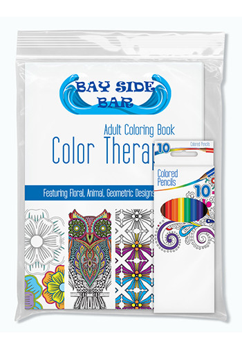 Customized Color Therapy Adult Coloring Pack