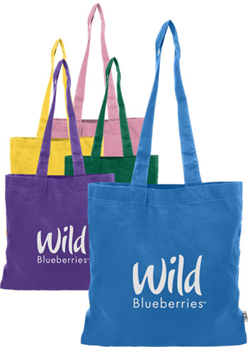 Personalized Colored Cotton Tote Bags