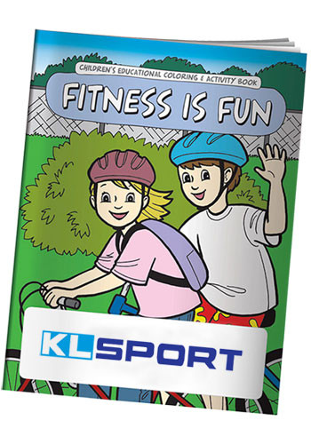 Wholesale Coloring Books: Fitness is Fun