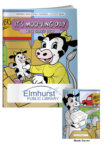 Wholesale Coloring Books: It's Moo-ving Day
