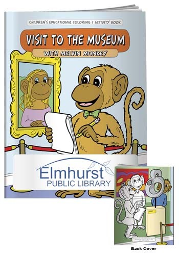 Customized Coloring Books: My Visit to the Museum