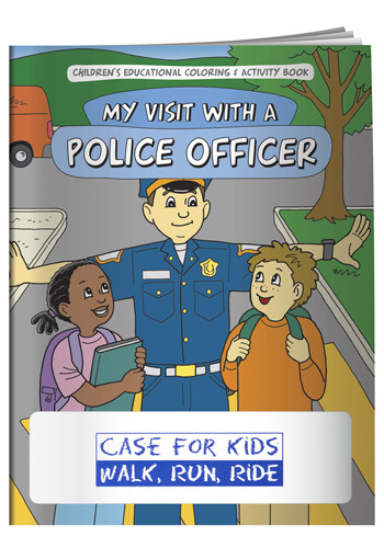 Personalized Coloring Books: My Visit with a Police Officer