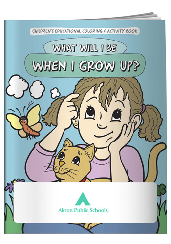Wholesale Coloring Books: What Will I Be When I Grow Up?