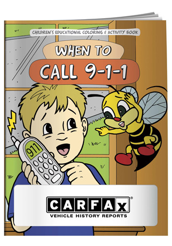 Customized Coloring Books: When to Call 911