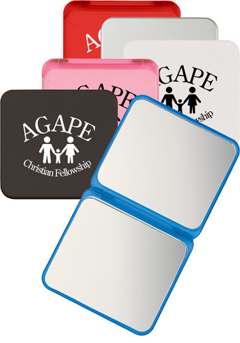 Customized Compact Mirrors With Dual Magnification