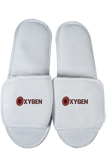 Coral Plush Slippers With Velcro Opening   APSL3000