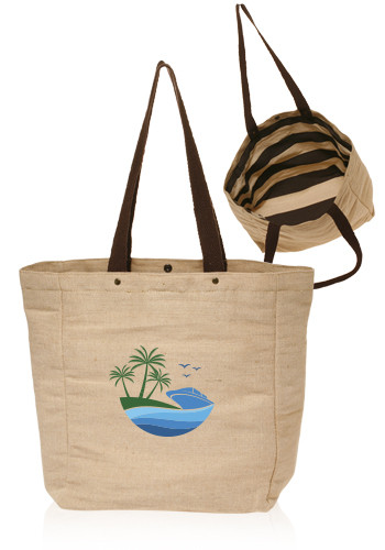 Cotton Jute Tote Bags