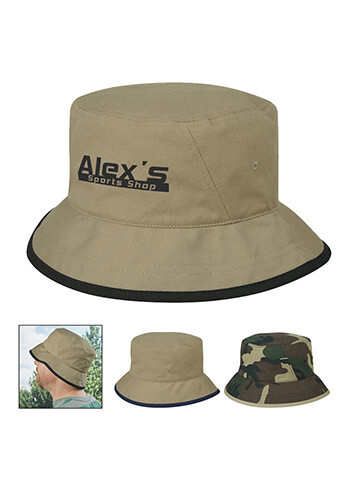 Promotional Cotton Twill Bucket Hats