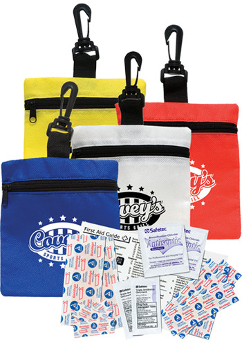 First Aid Kit Bags with Clips | CPS0738