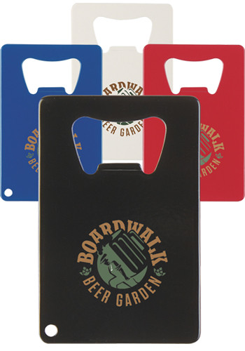 Personalized Credit Card Shaped Bottle Openers
