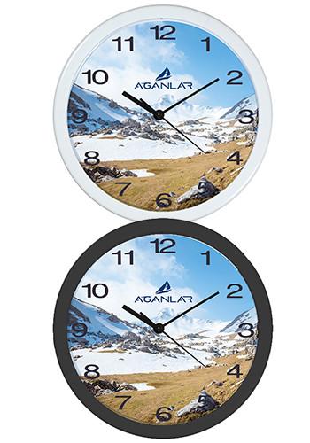 Custom 12 Plastic Economy Overs Wall Clocks