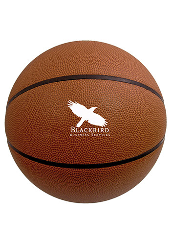Promotional 29.5 in. Full Size Synthetic Leather Basketballs
