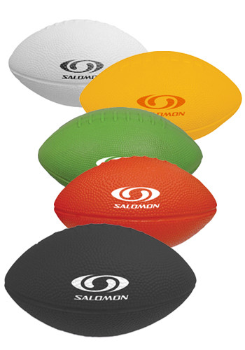 Promotional 7 in. Solid Colors Foam Footballs