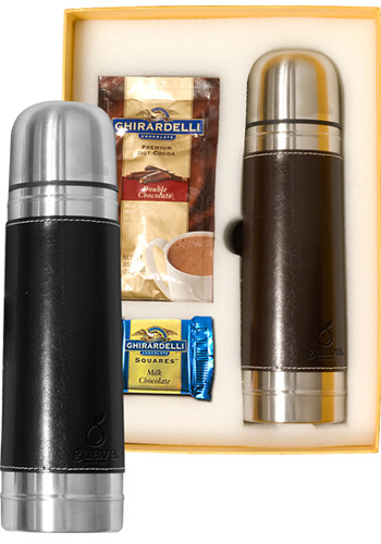 Promotional Empire Thermos & Ghirardelli Deluxe Gift Sets