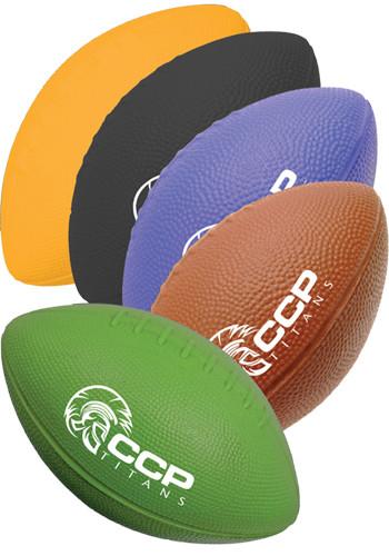 Custom Foam Footballs in Solid Colors