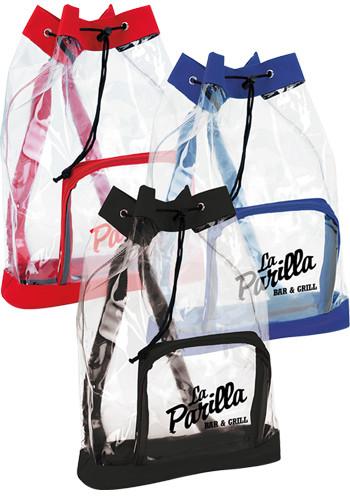 Clear Cinch Backpacks | X30007