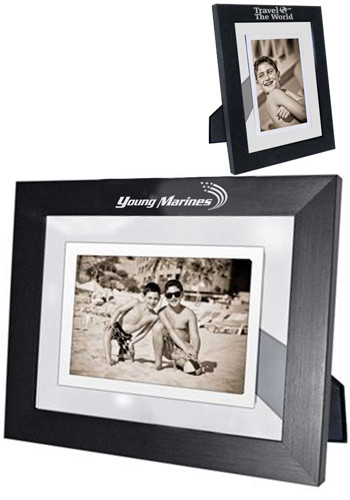 Personalized Floating Infinity 4W x 6H inch Photo Frames