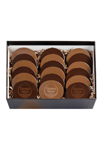 Promotional 18 Round Cookies in Cookie Gift Box