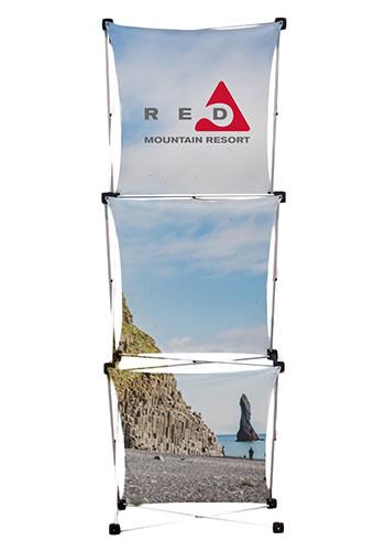 Wholesale 31.5W x 90.5H in. GeoMetrix Pop-Up Kits with Soft Carry Case