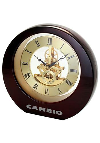 Promotional Mahogany Interactive Gear Clocks