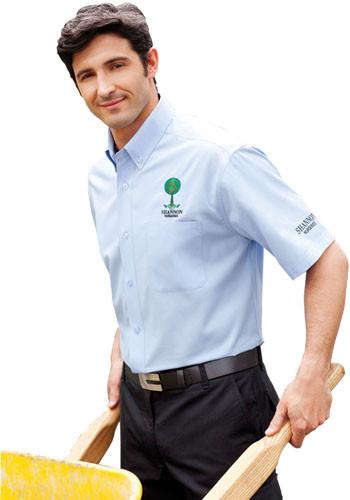 Men's Colter Short Sleeve Dress Shirts   LETM17743