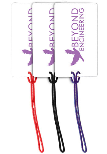 Customized Plastic Slip-In Pocket Luggage Tags