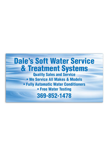 Wholesale 4 x 2 inch Business Card Magnets