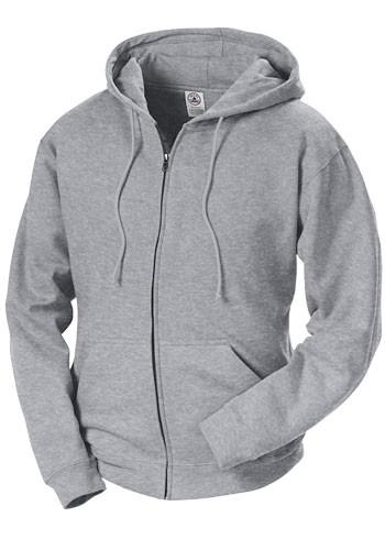 Delta Adult Unisex Heavyweight Fleece Zip Hoodie Sweatshirts | 99300