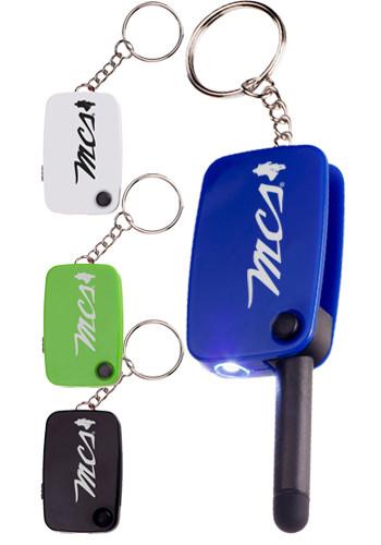 Customizable Push Button Stylus Key Lights