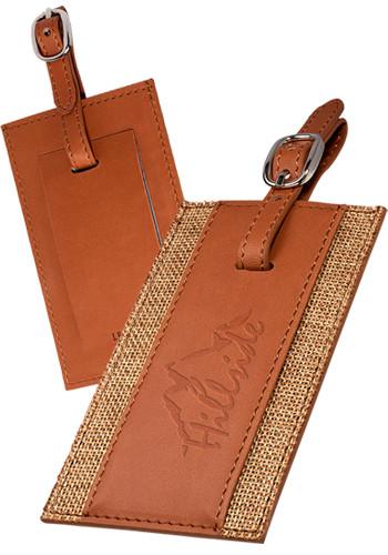 Sierra™ Leather Luggage Tags |PLLG9343