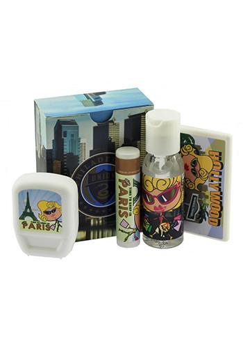 Custom 4- Piece Travel Kits