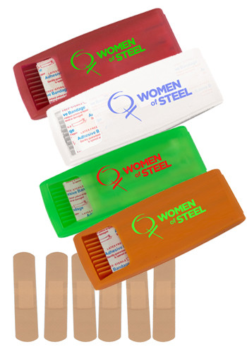 Personalized 6 pc Latex Free Bandage Dispensers